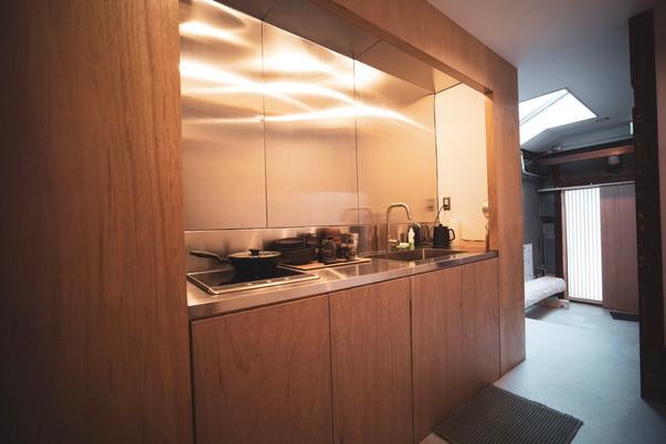 1st Floor Sunk in Kitchen