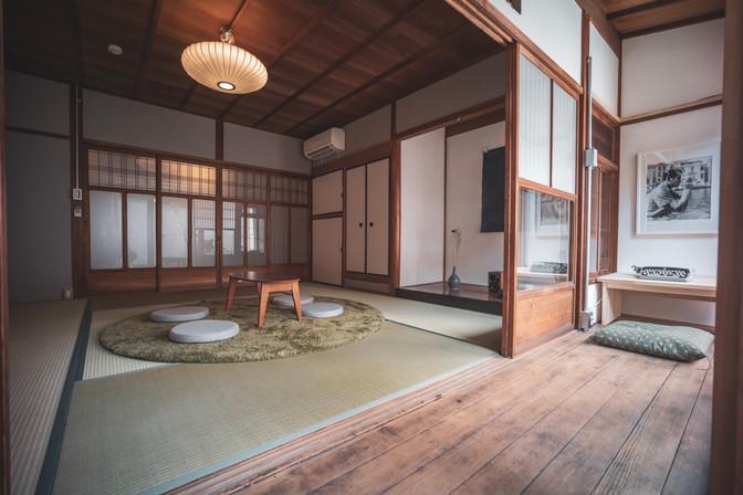 1st Floor Work space and Tatami Room
