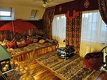 Восточная комната.  Загородный дом -  архитектор Леонид Тугарин