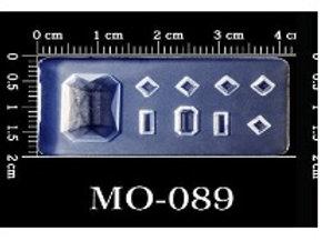 MOLDE SILICONA 3D #089
