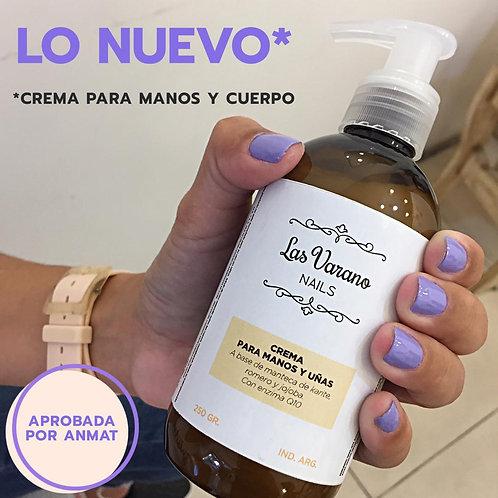 """Crema p/manos y cuerpo """"Las Varano"""""""