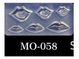 MOLDE SILICONA 3D #058