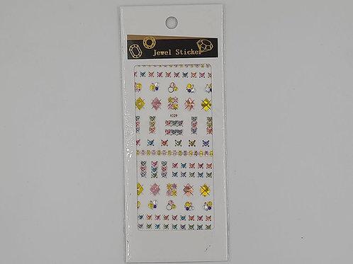 Sticker c/relieve #1