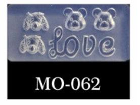 MOLDE SILICONA 3D #062