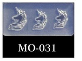 MOLDE SILICONA 3D #031
