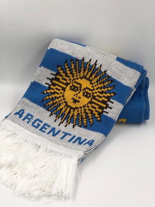 BUFANDA ARGENTINA (144cmsx17cms)