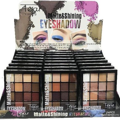 Sombra Matte + Brillo x16colores