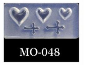 MOLDE SILICONA 3D #048