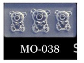 MOLDE SILICONA 3D #038