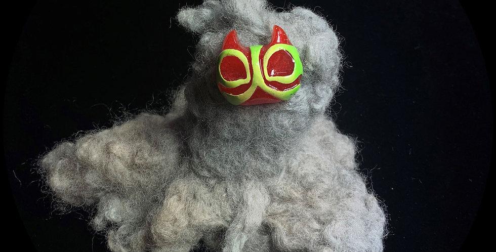 Fluffy Little Masked Demon Spirit Pifflet