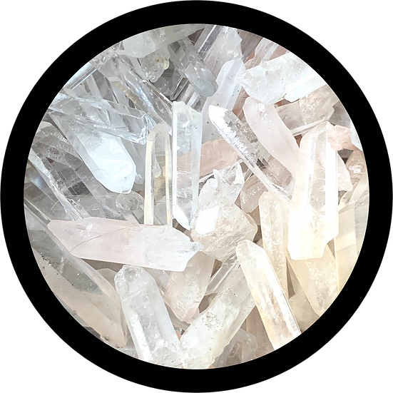 A Pile Of Quartz Points