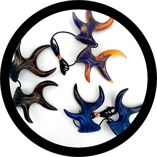 Handcrafted Resin Magical Spritely Antlers
