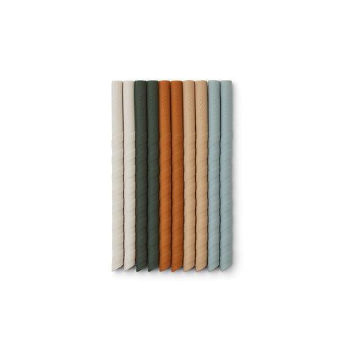 Liste Wérion Dudziak - Pailles en silicone liewood