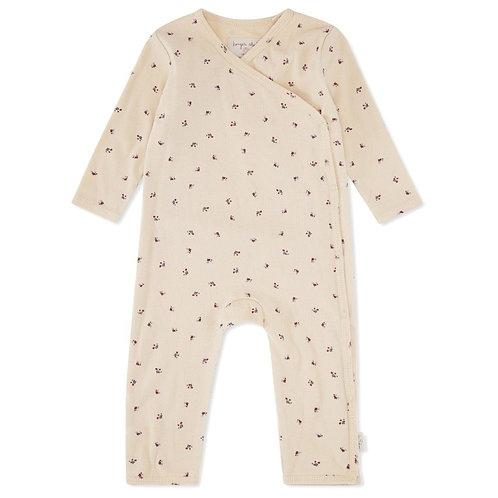 KONGES SLOJD - Pyjama nouveau né Bloom red/blue