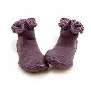 CO chaussons Mademoiselle mauve