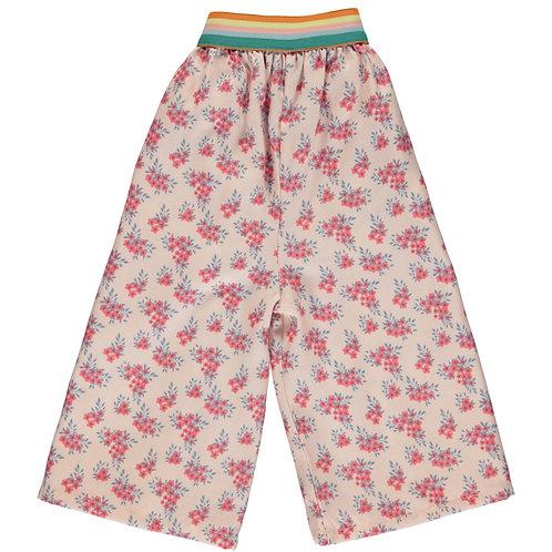 PIUPIUCHICK -Jupe culotte fleurie avec élastique multicolor