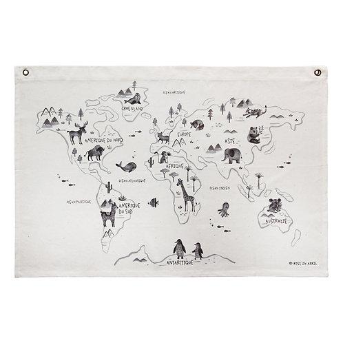 Liste Cornil Dewulf - Carte du monde Rose In April