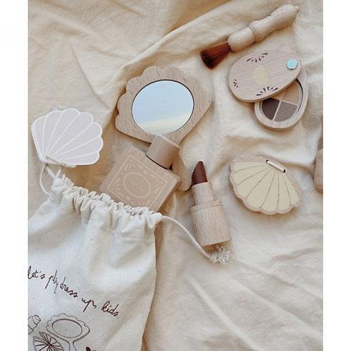 KONGES  SLOJD - Set de maquillage en.bois