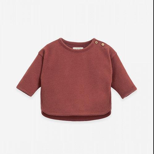PU SS21 - Sweater with longer back | Botany
