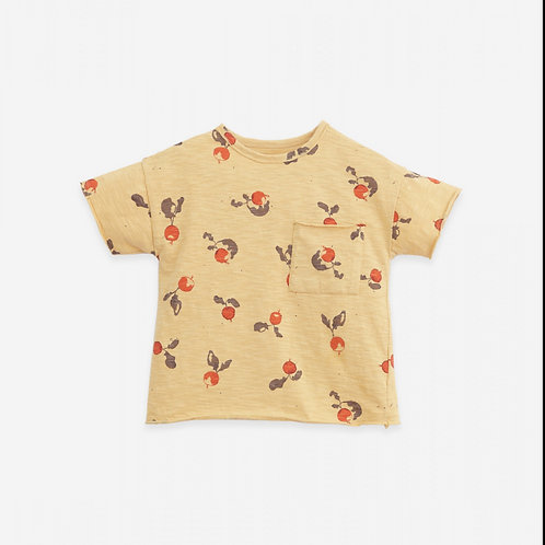 PU SS21 - T-shirt with radishes print   Botany
