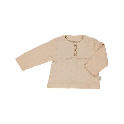 POUDRE ORGANIC - Reglisse blouse amberlight