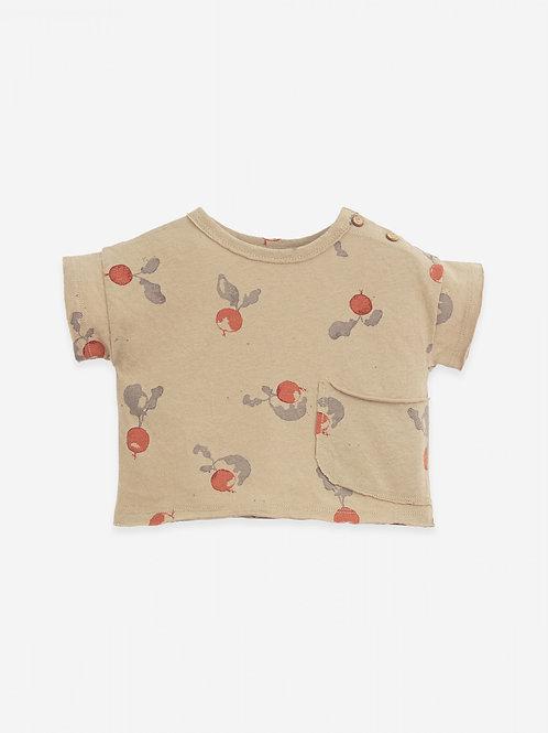 PLAY UP - Printed jersey t-shirt radis