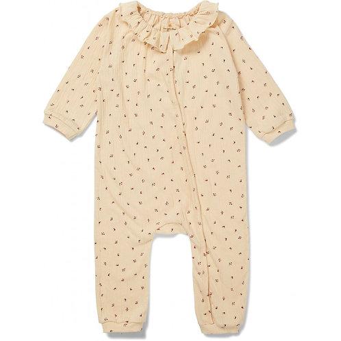 KONGES SLOJD - Pyjama Bébé Fleurs CHLOE Onesie
