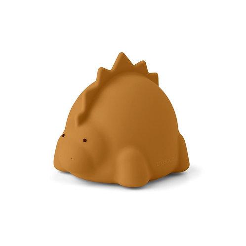 LIEWOOD - Winston - veilleuse dino moutarde