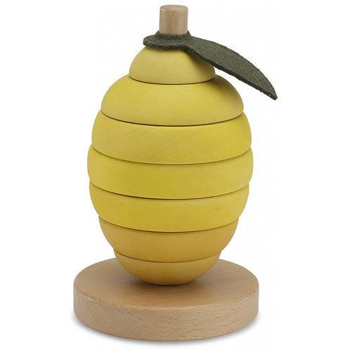 KONGES SLOJD - Citron en bois empilable