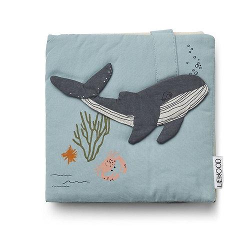 LIEWOOD - Sammy fabric book sea blue