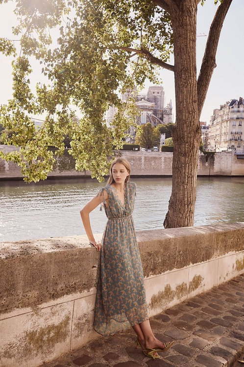 LOUISE MISHA - Robe bohème Dress Plumeria Storm Flowers