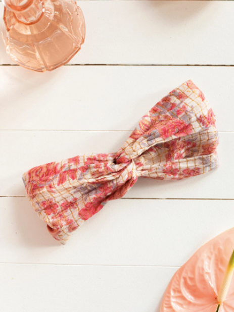 LOUISE MISHA - Headband Yuriria Pink Flowers