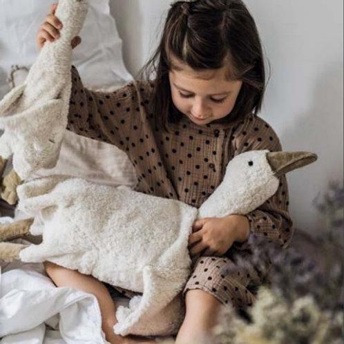 SENGER NATURWELT- Peluche bouillotte petite oie blanche