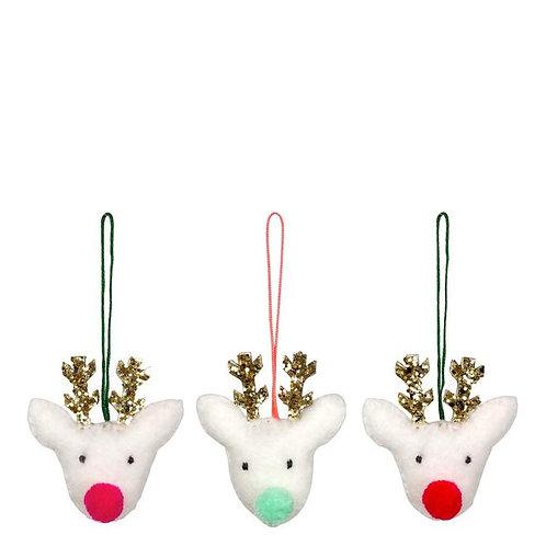 MERI MERI - Décoration pour le sapin, 3 rennes