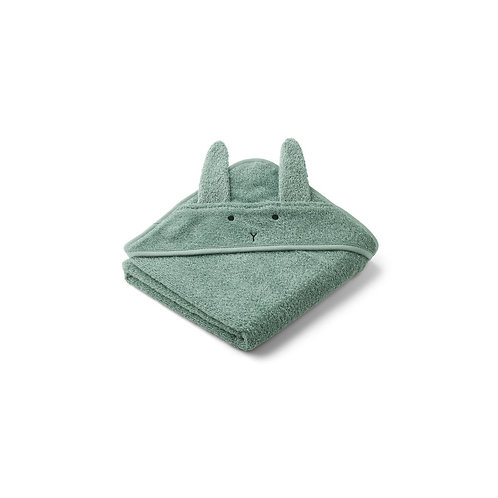 LIEWOOD - Cape de bain Albert hooded towel Rabbit peppermint
