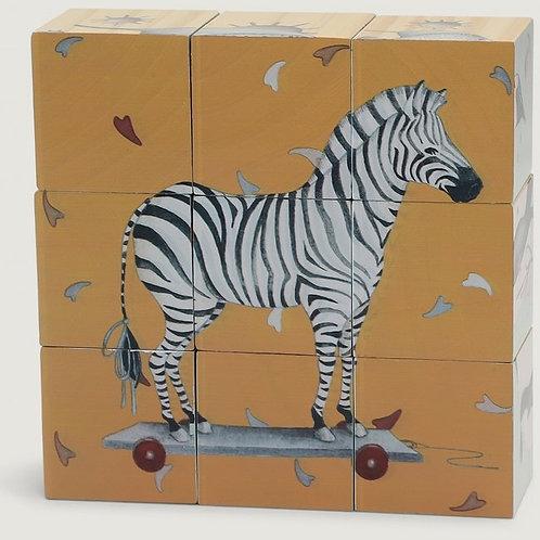 KONGES  SLOJD - Cubes et puzzle en bois