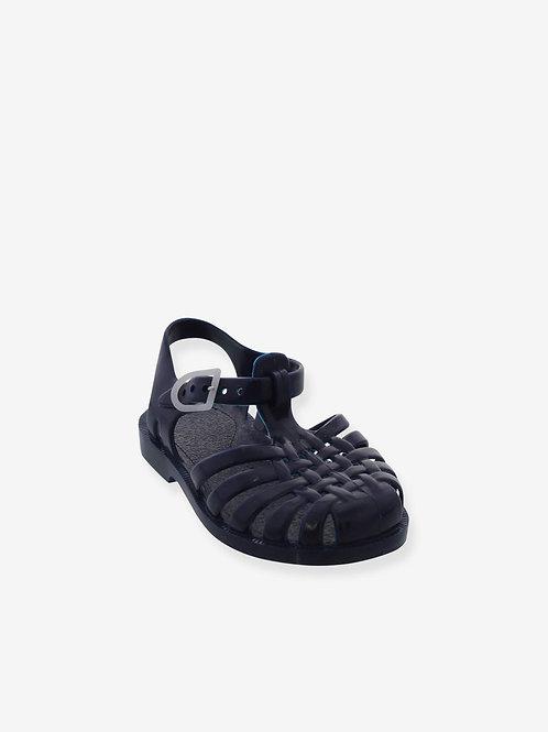 MÉDUSE - Sandale en plastique, marron