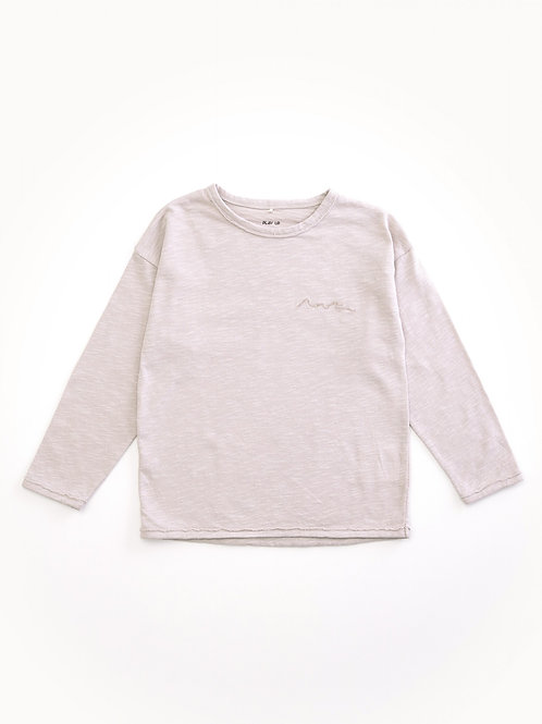 PLAY UP - T-shirt gris clair