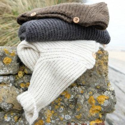POUDRE ORGANIC - Pull en laine Marron chiné