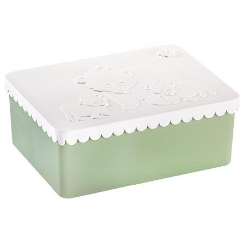 BLAFRE - Boîte compartimentée vert clair