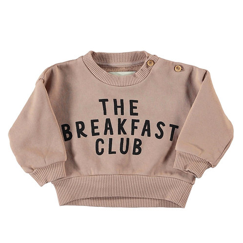 PIUPIUCHICK - Sweatshirt The breakfast club light brown
