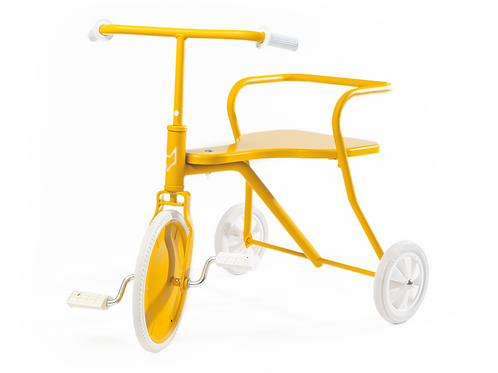 METAFOX - Tricycle vintage jaune