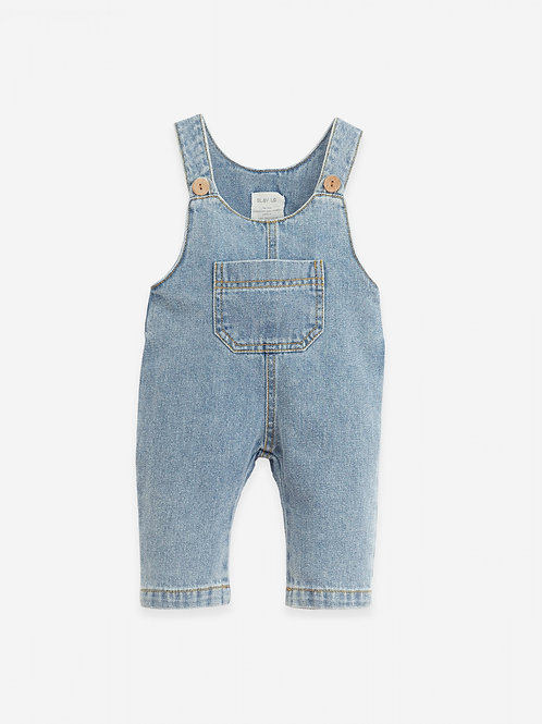 PLAY UP - Salopette/Denim dungarees in cotton | Botany