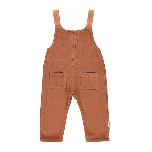 PIUPIUCHIK - Baby Jumpsuit caramel corduroy