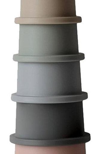 Liste Belin Perrillat - Mushie Pots à empiler