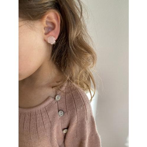 KONGES SLOJD - 3 paires de boucles d'oreilles à clips Licorne