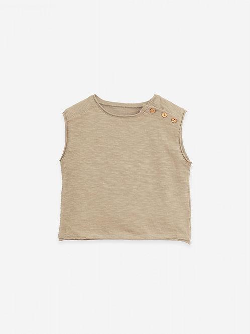 PLAY UP - Marcel/Sleeveless T-shirt   Botany
