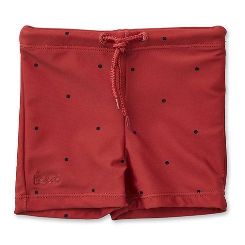 LIEWOOD - Otto maillot short, classic dot rusty
