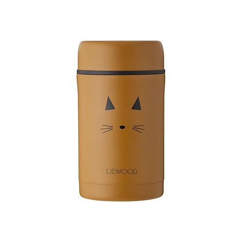 LIEWOOD - Pot en inox Bernard food jar chat moutarde