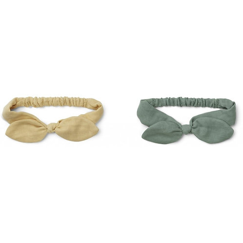 LIEWOOD - Henny headband 2 pack Yellow